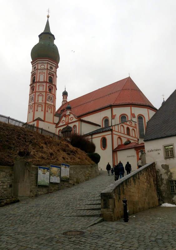 Andechs Kloster lidt uden for München er et smukt turistmål og vigtigt sted for godt øl
