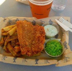 Fish & Chips fra Hooked