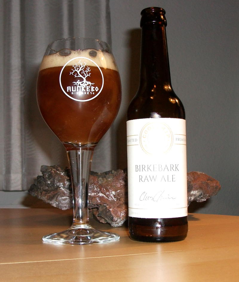 Coolship Birkebark Raw Ale fra Munkebo Brewing