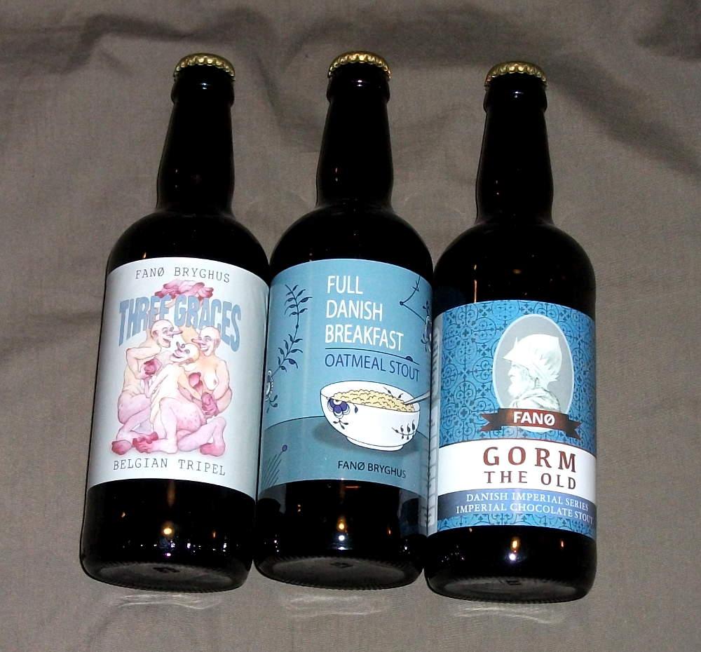 Tre nye øl fra Fanø Bryghus