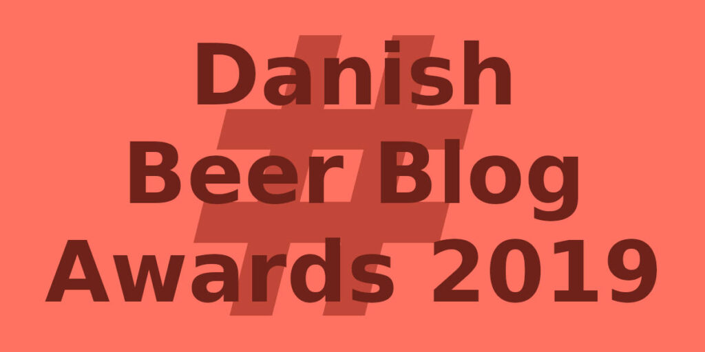 Danish Beer Blog Awards 2019