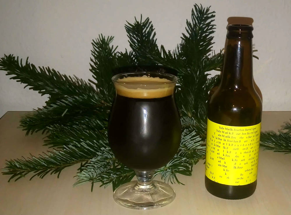 To Øl Yule Mælk Bourbon Barrel Aged