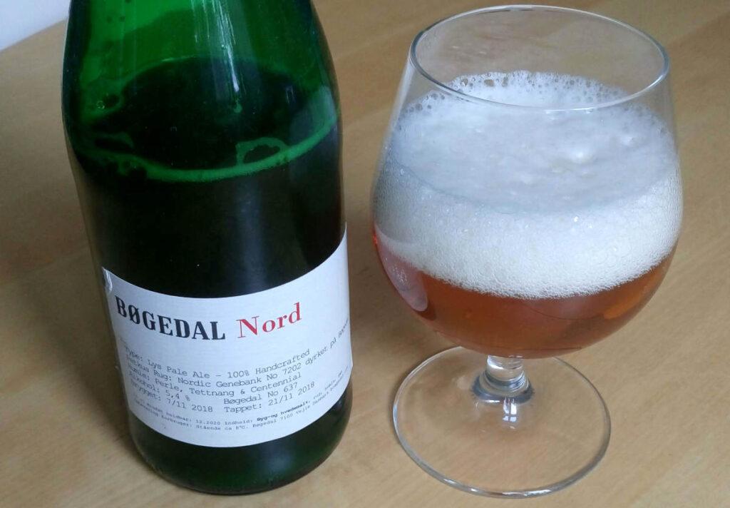 Bøgedal Nord, lys ale med petkus rug
