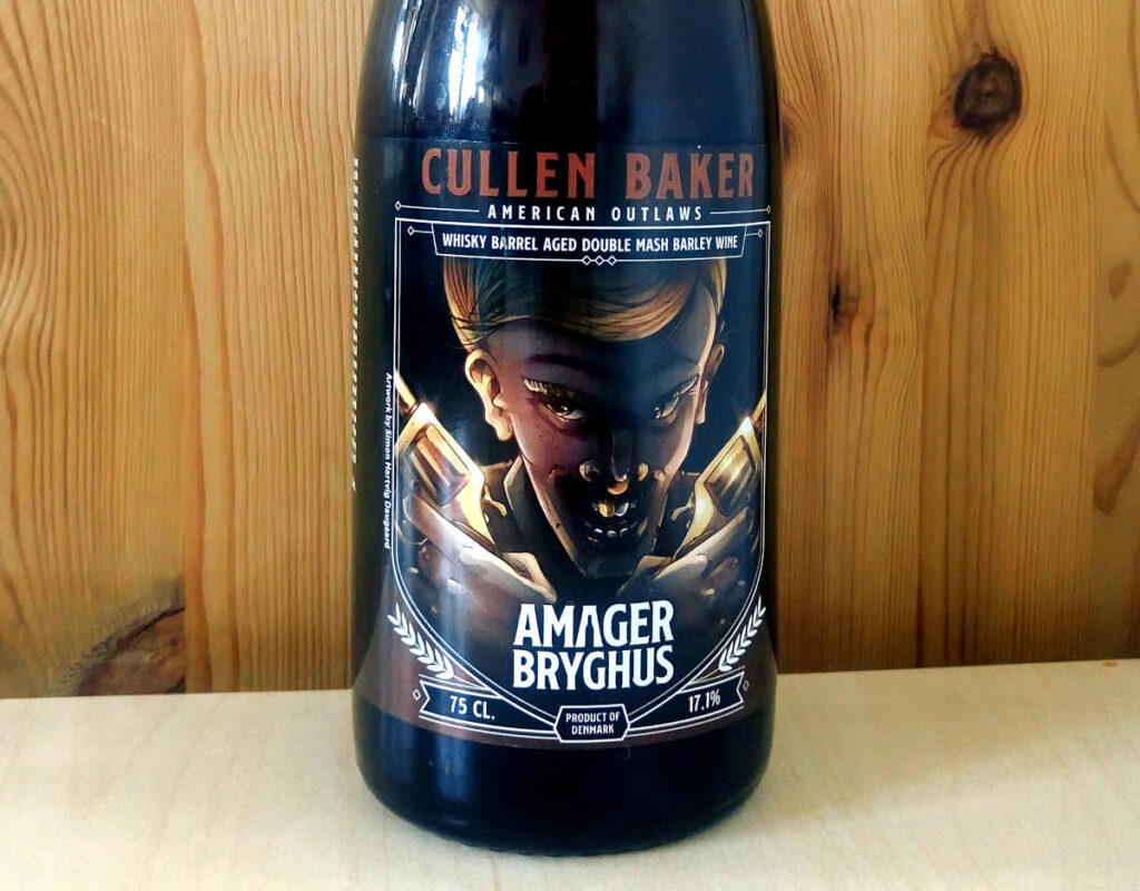 Amager Bryghus Cullen Baker whisky fadlagret double mash barleywine
