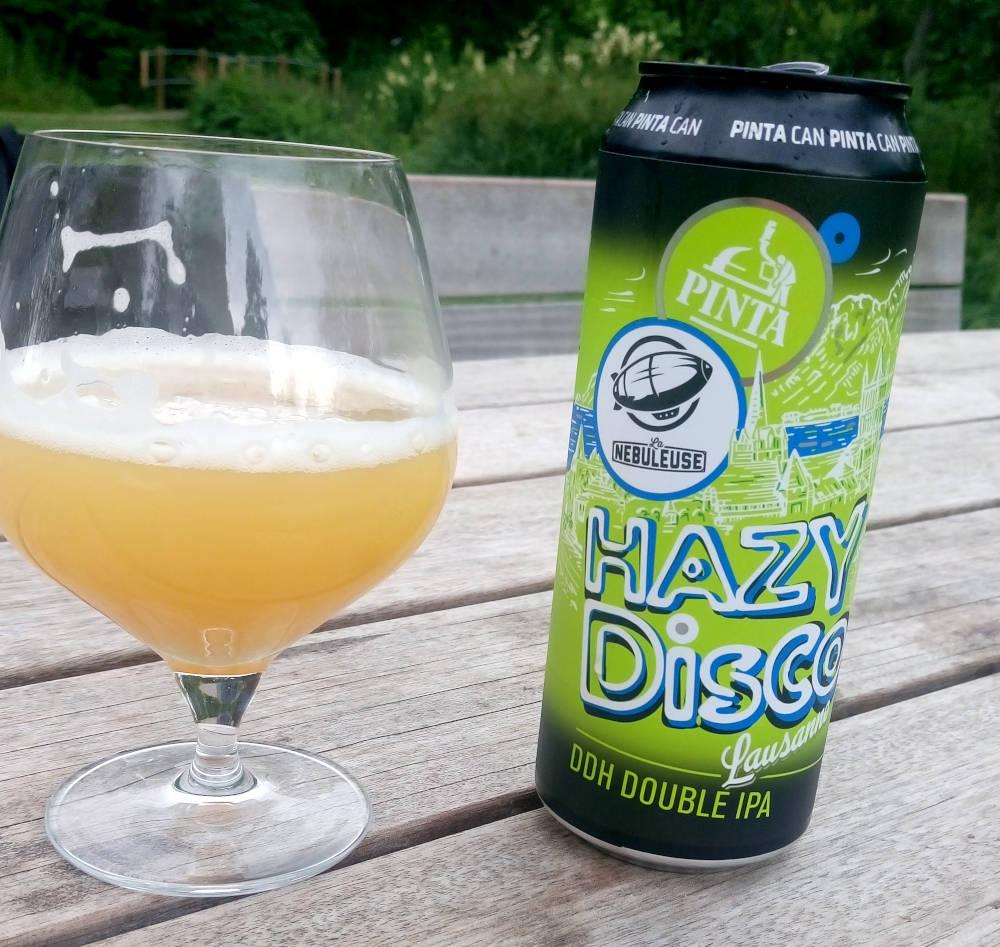 Pinta Hazy Disco Lausanne
