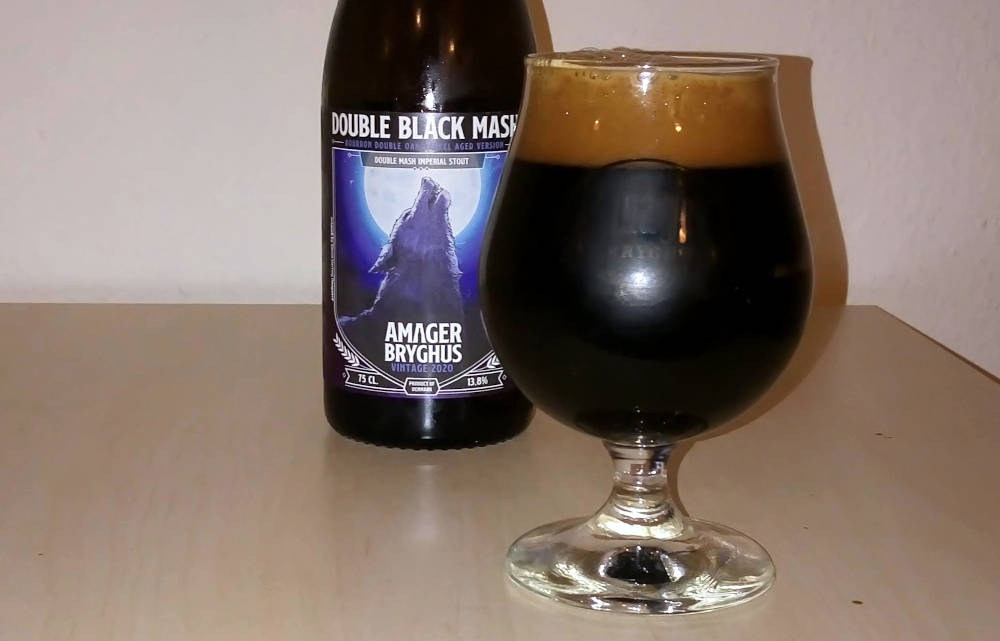 Amager Bryghus Double Black Mash Bourbon Version 2020