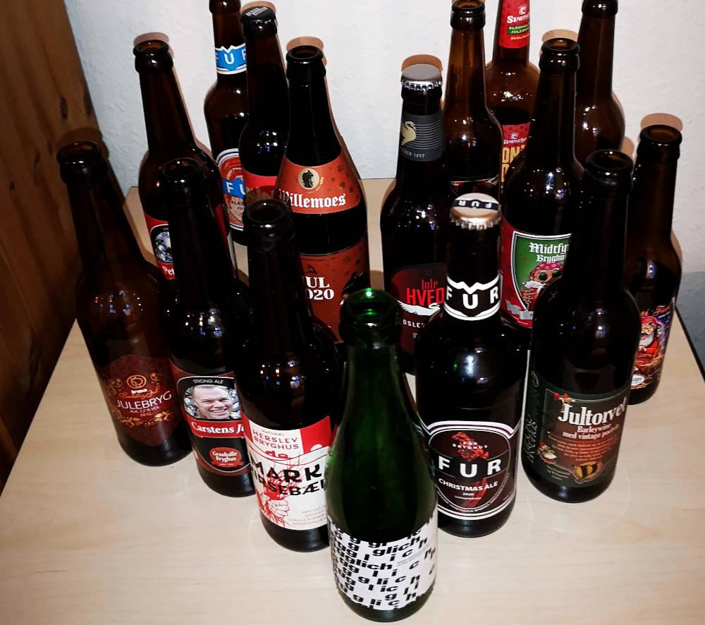 Masser af mørk jule ale