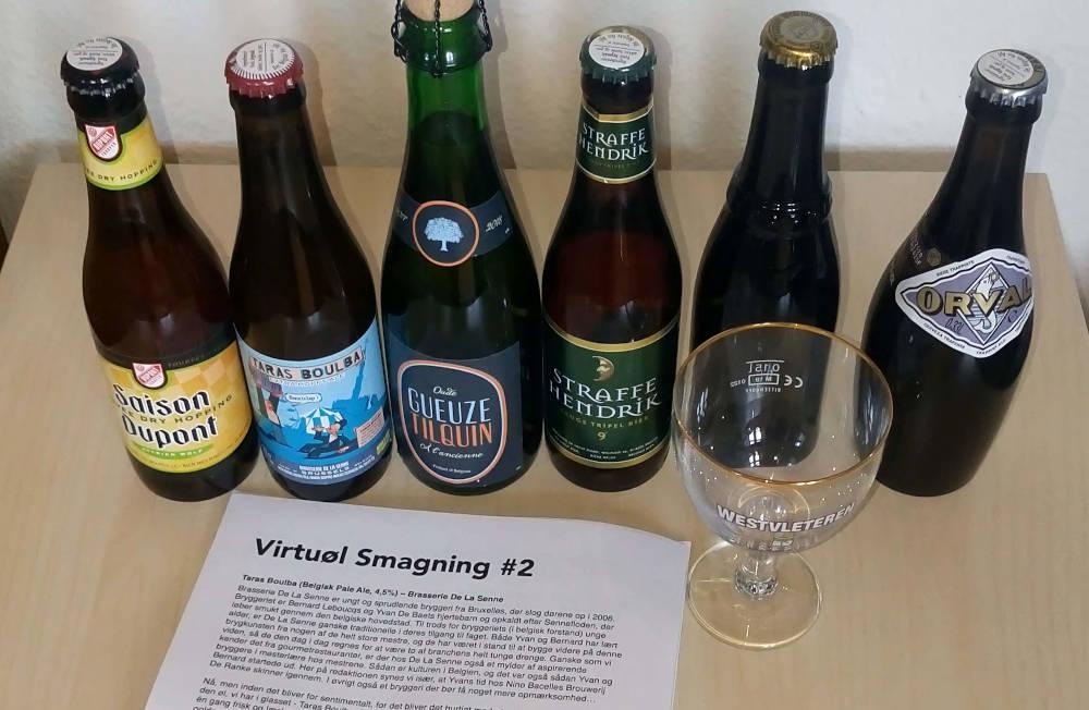 Virtuøl Ølsmagning #2 med belgisk øl fra køl.dk