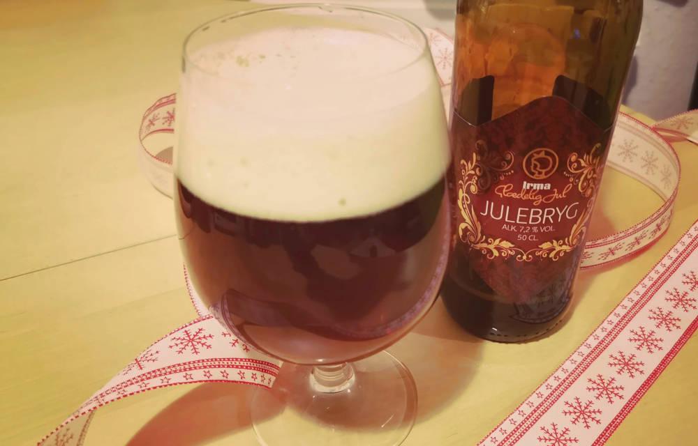 Skands Irma Julebryg, en belgisk inspireret mørk jule ale