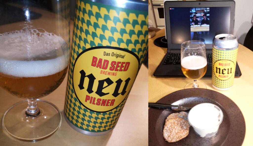 Digital øl og ost smagning med Arla Unika og Bad Seed Brewing