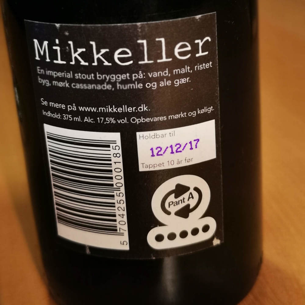 Mikkeller Black - tappet 12. december 2007