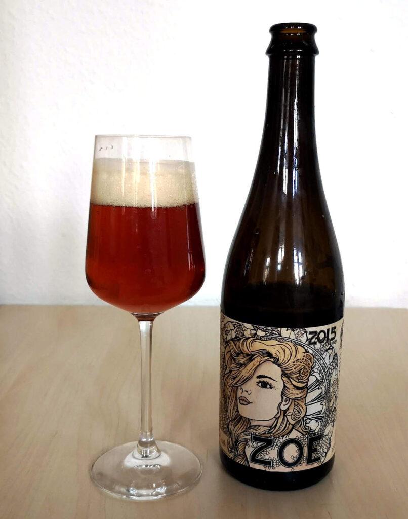 Den smukke syrlige øl Penyllan Zoe
