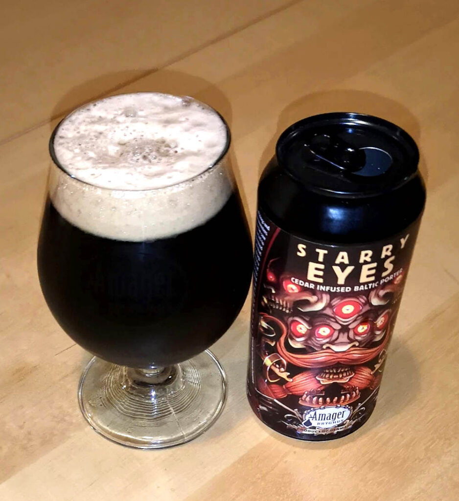 Amager Bryghus Starry Eyes Baltic Porter Infused with Cedar